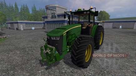 John Deere 8370R v2.0 для Farming Simulator 2015
