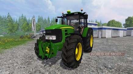 John Deere 7430 Premium v2.0 для Farming Simulator 2015