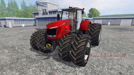 Massey Ferguson 7622 v2.5 для Farming Simulator 2015