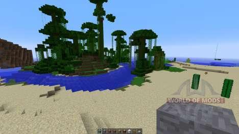 King Tuts Tomb для Minecraft