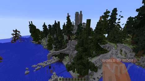 The Ruins of Falcrest для Minecraft