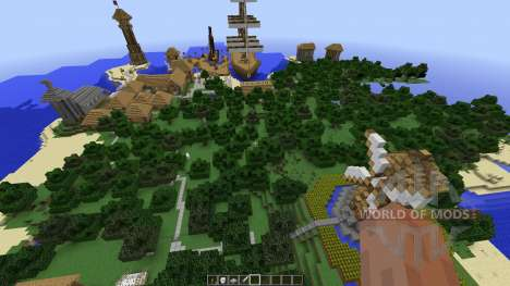 Sziget для Minecraft