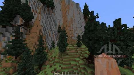 TerraCliff Extreme Terrain для Minecraft