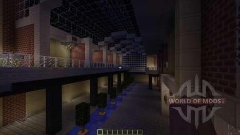 U-Plex Shopping Center Massive Modern Mall для Minecraft