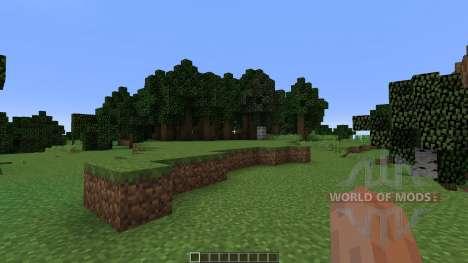 Natural Arena для Minecraft
