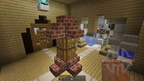 Steampunk Island of Verdad для Minecraft