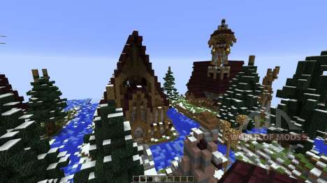 The Hobbit Esgaroth in Minecraft для Minecraft