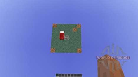 Floating Map Base для Minecraft