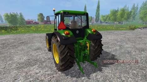 John Deere 6430 comfort для Farming Simulator 2015