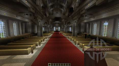 The Robarian Cathedral для Minecraft