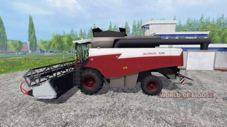 Акрос 530 для Farming Simulator 2015