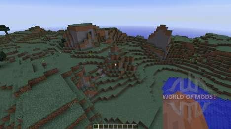 Redstone Underground Survival house для Minecraft