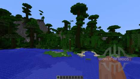 Paradise Island для Minecraft