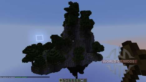 Floating islands Pack 1 для Minecraft