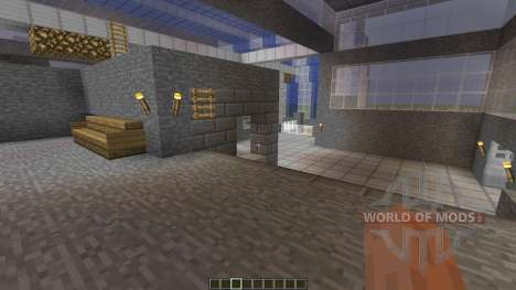 Entrack A PvP Map для Minecraft