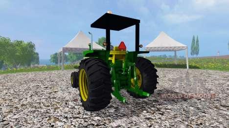 John Deere 4020 diesel для Farming Simulator 2015
