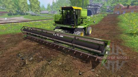 Дон-1500А v2.0 для Farming Simulator 2015