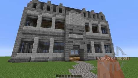 Stone Mansion для Minecraft
