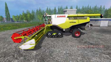 CLAAS Lexion 780TT v2.2 для Farming Simulator 2015
