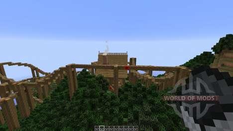 The Lost Island Adventure Coaster для Minecraft