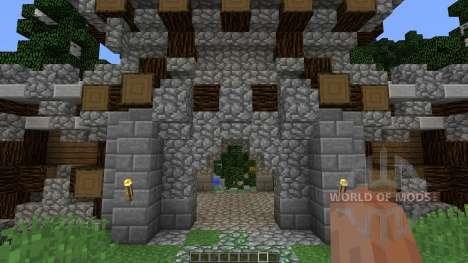Viking Lake Town для Minecraft