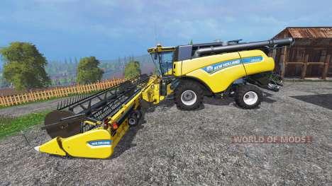New Holland CR10.90 [front single wide wheels] для Farming Simulator 2015