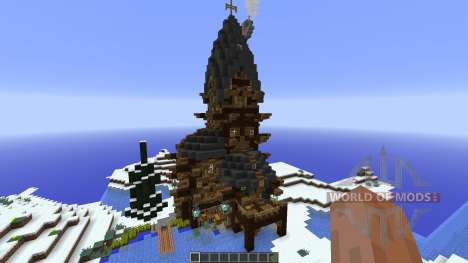 KevinKools Lake House для Minecraft