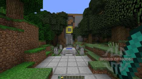 The Temple of Notch для Minecraft