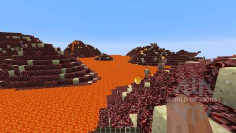 The Nether Shores для Minecraft