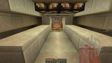 Theater House and minecart renting system для Minecraft