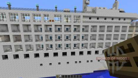 Cruise Ship Silver Cloud для Minecraft