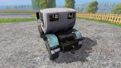 Т-150 КАЗ 300 [прототип] для Farming Simulator 2015