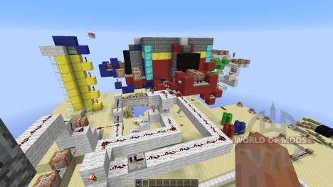 Team Death Match для Minecraft