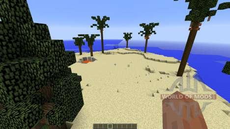 Suchers Lost Island для Minecraft