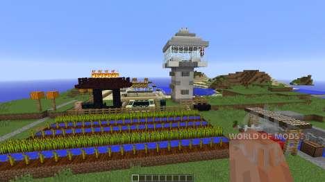 Minecraft Map-CakeLand для Minecraft
