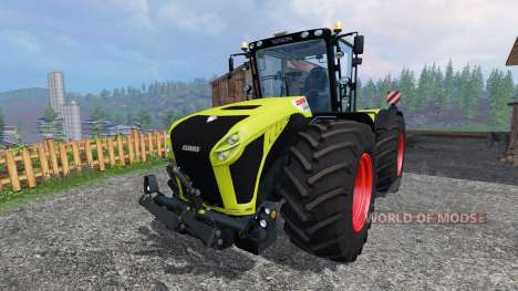 CLAAS Xerion 4500 v2.0 для Farming Simulator 2015