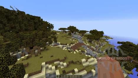 Buluran An African Terrain для Minecraft