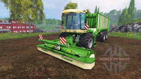 Krone BIG L500 Prototype v1.9 для Farming Simulator 2015