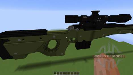 TNT Rifle: Awp для Minecraft