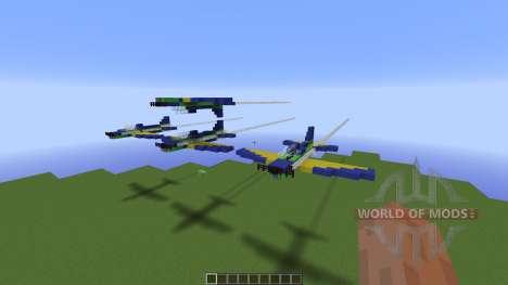 Brazilian Smoke Squadron T27 для Minecraft