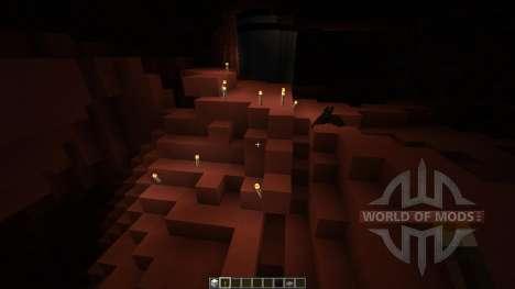 Mars Biome MASSIVE UNDERGROUND CAVES для Minecraft
