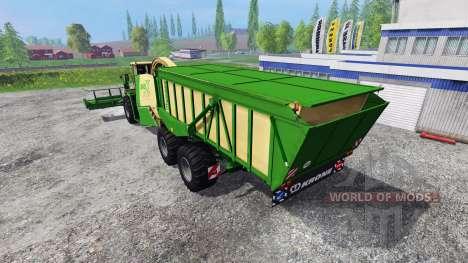 Krone Big X 650 Cargo v4.0 для Farming Simulator 2015