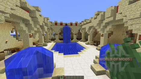 A Small Roman Domus для Minecraft