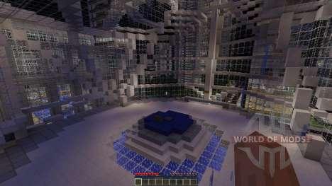 LeafCREEP City для Minecraft