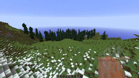 Alpine Valley для Minecraft