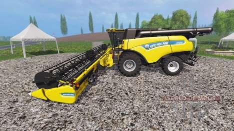 New Holland CR10.90 v1.0.1 для Farming Simulator 2015