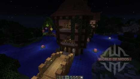 Mediaval Letharia для Minecraft