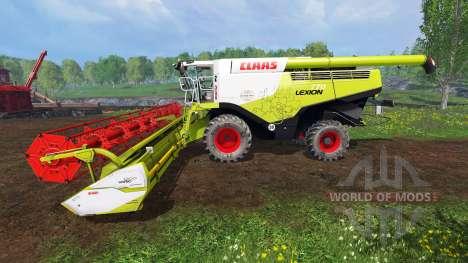 CLAAS Lexion 770 [washable] для Farming Simulator 2015