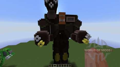 Ragnarok Mech для Minecraft
