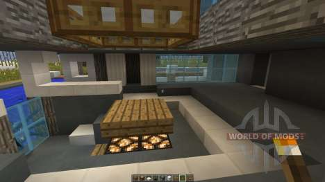 ECO Minecraft Ecological House Project для Minecraft